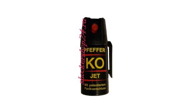 Немецкий струйный газовый баллончик Pfeffer Ko Jet, 40 мл.